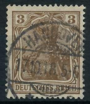 DEUTSCHES REICH 1900 18 GERMANIA Nr 84IIa gestempelt gep 899082