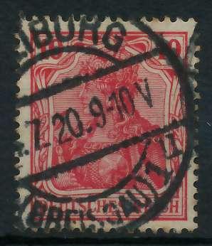 DEUTSCHES REICH 1900 18 GERMANIA Nr 86IIa gestempelt gep 899086