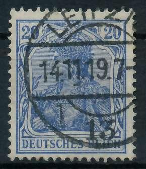 DEUTSCHES REICH 1900 18 GERMANIA Nr 87IIc gestempelt gep 89909E
