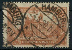 DEUTSCHES REICH 1920 INFLATION Nr 114a gestempelt gepr. 8990C6