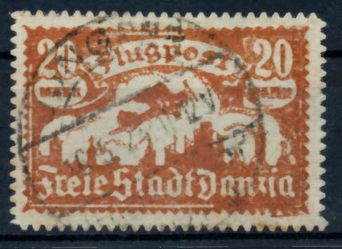 DANZIG 1923 Nr 118 zentrisch gestempelt 6D355E