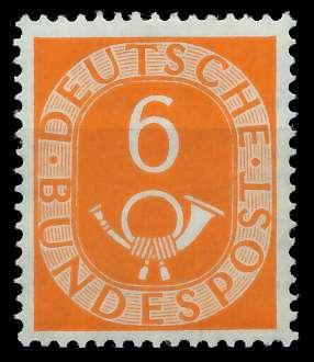 BRD DS POSTHORN Nr 126 postfrisch gepr. 877D3E