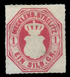 MECKLENBURG-STRELITZ Nr 4 ungebraucht 89C422