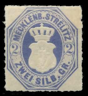 MECKLENBURG-STRELITZ Nr 5 ungebraucht 89C426