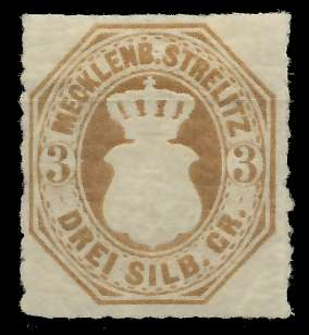 MECKLENBURG-STRELITZ Nr 6 ungebraucht 89C42A