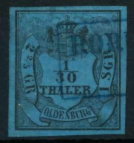 OLDENBURG Nr 2III gestempelt 89C43A