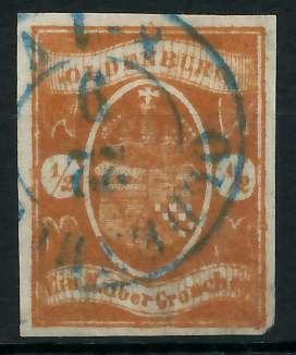 OLDENBURG Nr 11a gestempelt gepr. 89C43E