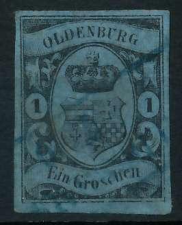 OLDENBURG Nr 6a gestempelt 89C442