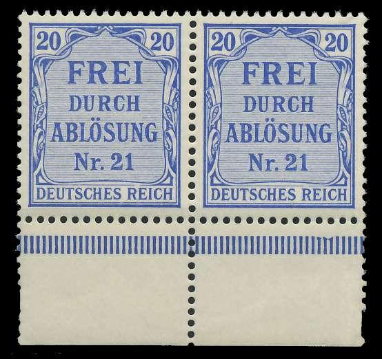 DEUTSCHES REICH DIENSTMARKEN 1903 05 Nr 5 postfrisch WA 89C48E