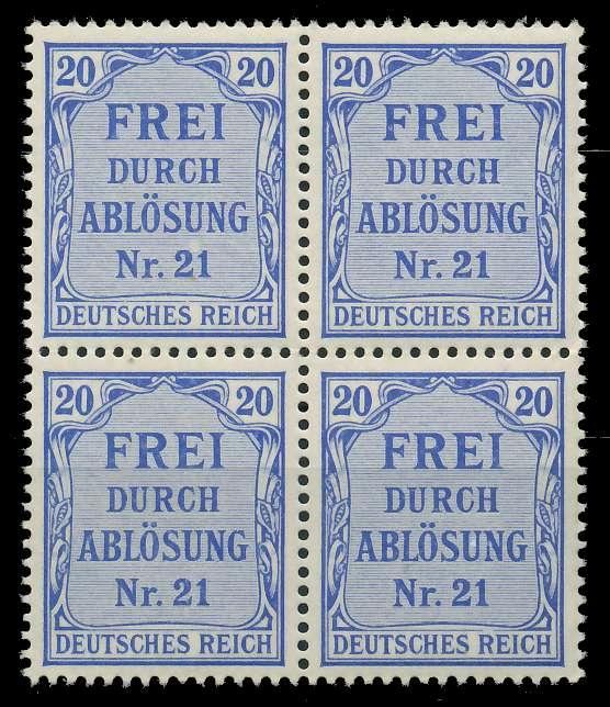 DEUTSCHES REICH DIENSTMARKEN 1903 05 Nr 5 postfrisch VI 89C49A