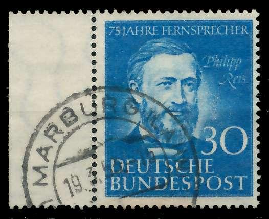 BRD 1952 Nr 161 gestempelt 89C596