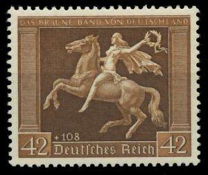 DEUTSCHES REICH 1938 Nr 671y postfrisch 89C5A2