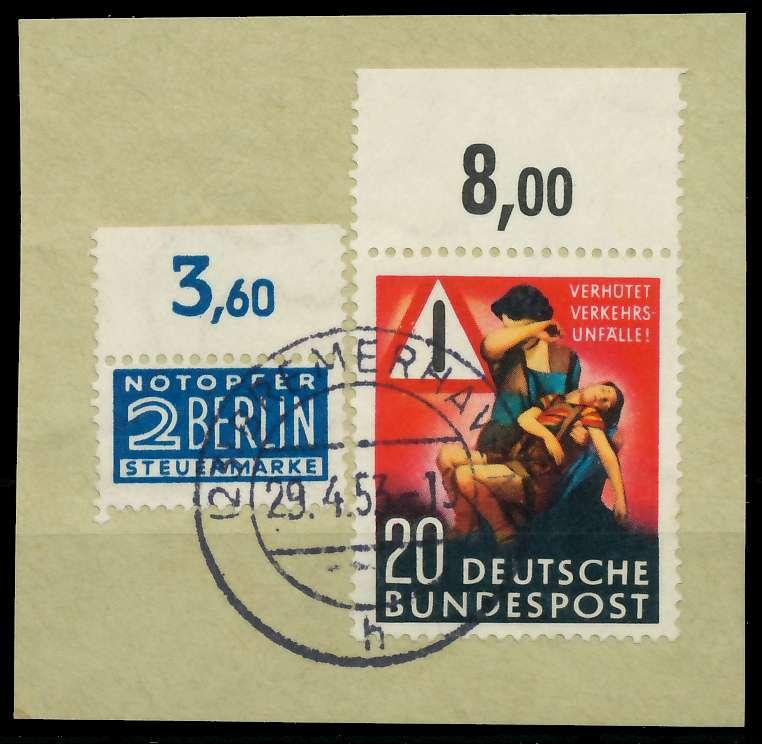 BRD 1953 Nr 162 zentrisch gestempelt Briefst³ck ORA 89C5BE