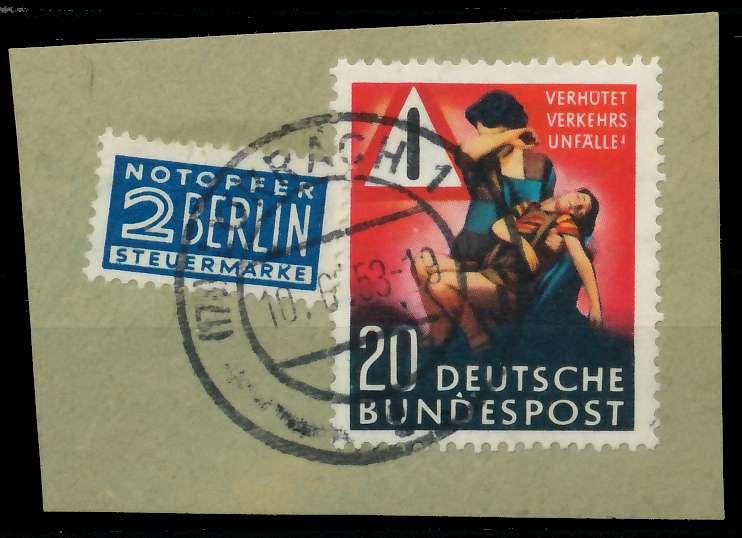 BRD 1953 Nr 162 zentrisch gestempelt Briefst³ck 89C5C2