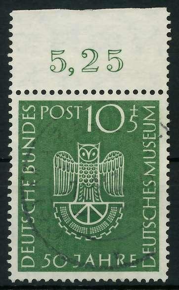 BRD 1953 Nr 163 zentrisch gestempelt ORA 89C5EA