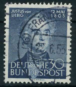 BRD 1953 Nr 166 gestempelt 89C5F2