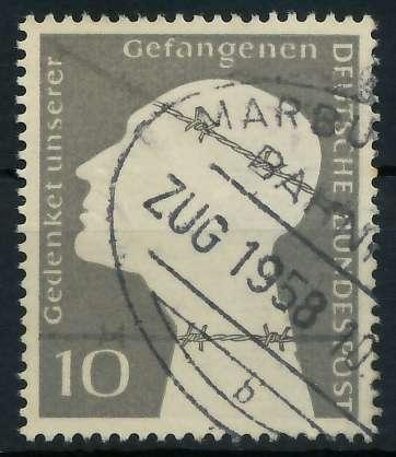 BRD 1953 Nr 165 BAHNPOST gestempelt 89C60E