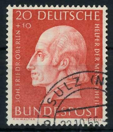 BRD 1954 Nr 202 gestempelt 89C612