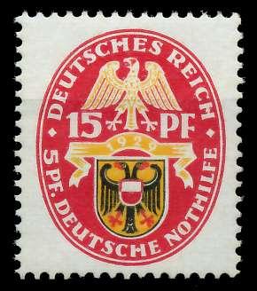 DEUTSCHES REICH 1929 Nr 432 postfrisch 89C65A