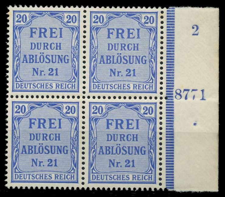 DEUTSCHES REICH DIENSTMARKEN 1903 05 Nr 5 HAN 8 89C666