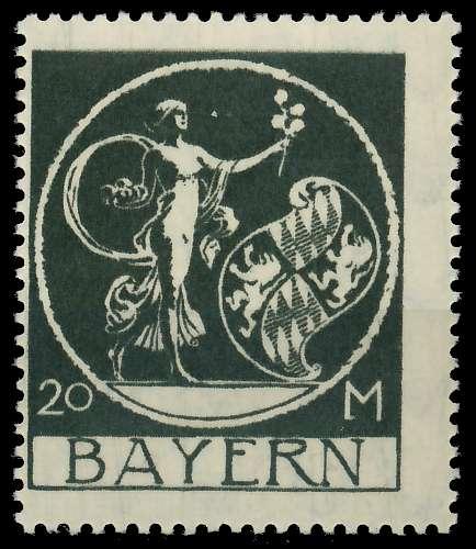 BAYERN ABSCHIEDSAUSGABE Nr 195 postfrisch 8904AE