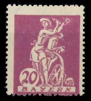 BAYERN ABSCHIEDSAUSGABE Nr 181I postfrisch 8904BA