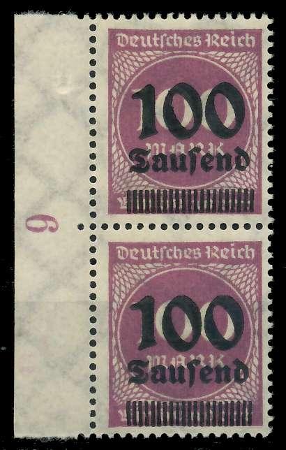 DEUTSCHES REICH 1923 HOCHINFLA Nr 289b postfrisch SENKR 89C68E