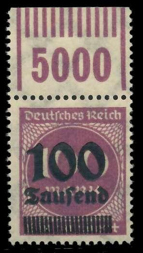 DEUTSCHES REICH 1923 HOCHINFLA Nr 289b OPD X a 89C692
