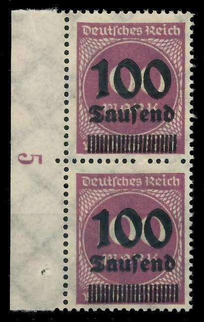 DEUTSCHES REICH 1923 HOCHINFLA Nr 289b postfrisch SENKR 89C69A