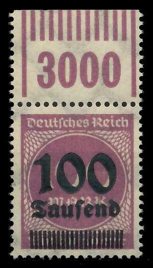 DEUTSCHES REICH 1923 HOCHINFLA Nr 289b OPD X a 89C69E
