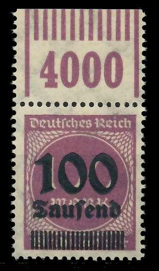 DEUTSCHES REICH 1923 HOCHINFLA Nr 289b OPD X a 89C6A2