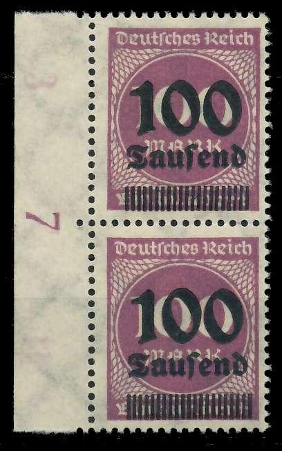 DEUTSCHES REICH 1923 HOCHINFLA Nr 289b postfrisch SENKR 89C6A6