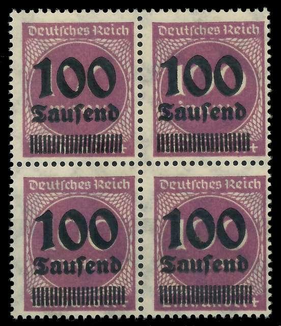 DEUTSCHES REICH 1923 HOCHINFLA Nr 289b postfrisch VIERE 89C6AA