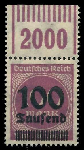 DEUTSCHES REICH 1923 HOCHINFLA Nr 289b OPD X a 89C6AE