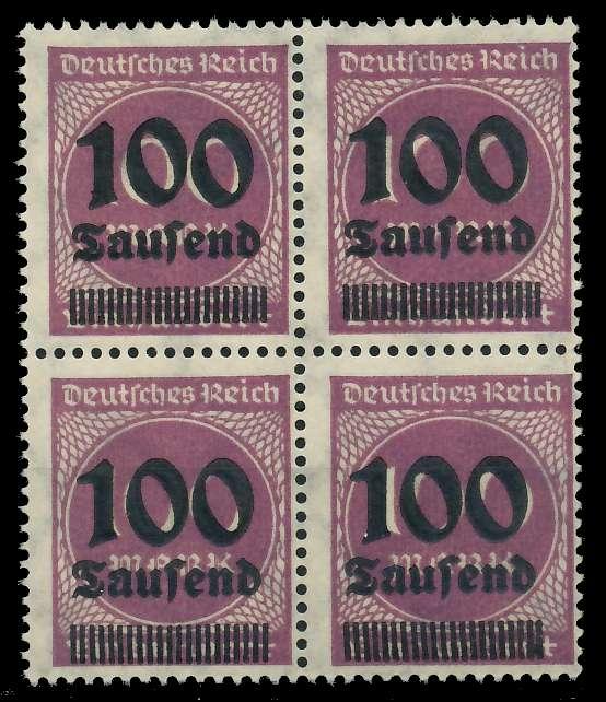 DEUTSCHES REICH 1923 HOCHINFLA Nr 289b postfrisch VIERE 89C6BE
