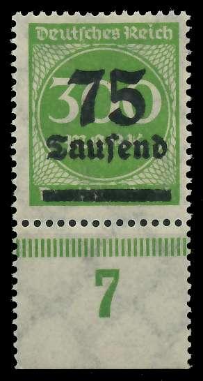 DEUTSCHES REICH 1923 HOCHINFLA Nr 286 postfrisch URA 89C6CA
