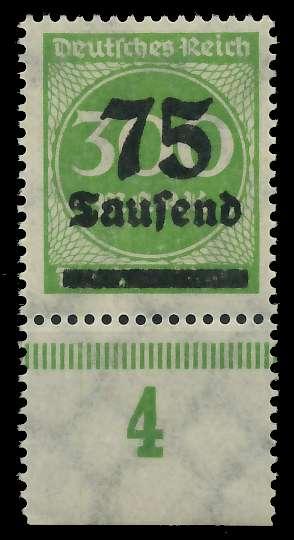 DEUTSCHES REICH 1923 HOCHINFLA Nr 286 postfrisch URA 89C6CE