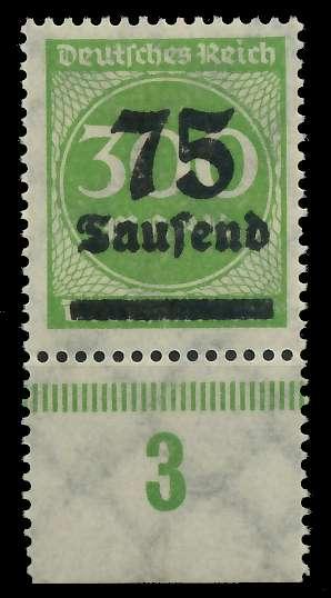 DEUTSCHES REICH 1923 HOCHINFLA Nr 286 postfrisch URA 89C6D2 0
