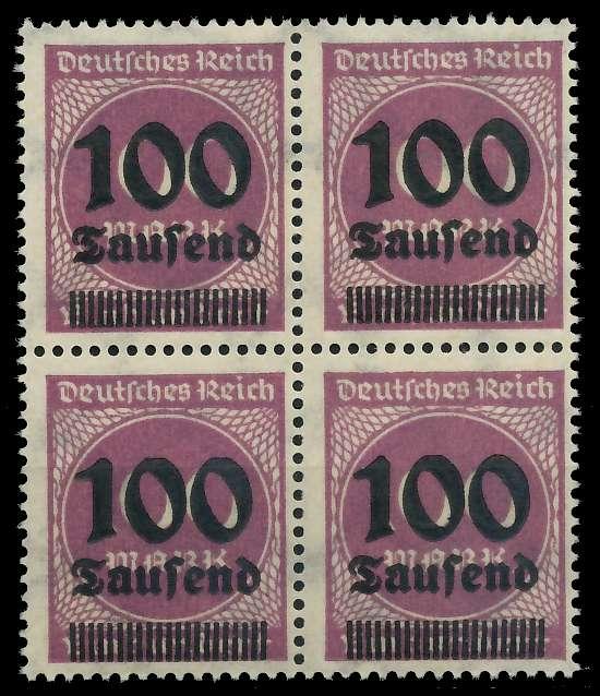 DEUTSCHES REICH 1923 HOCHINFLA Nr 289b postfrisch VIERE 89C6D6
