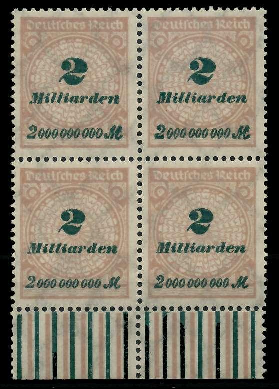 DEUTSCHES REICH 1923 HOCHINFLA Nr 326A postfrisch VIERE 89C6EA