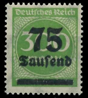 DEUTSCHES REICH 1923 HOCHINFLA Nr 286 postfrisch 89C6EE 0
