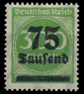 DEUTSCHES REICH 1923 HOCHINFLA Nr 286 postfrisch 89C6EE