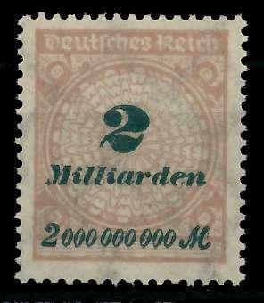 DEUTSCHES REICH 1923 HOCHINFLA Nr 326A postfrisch 89C6F6