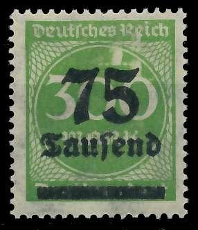 DEUTSCHES REICH 1923 HOCHINFLA Nr 286 postfrisch 89C6FE