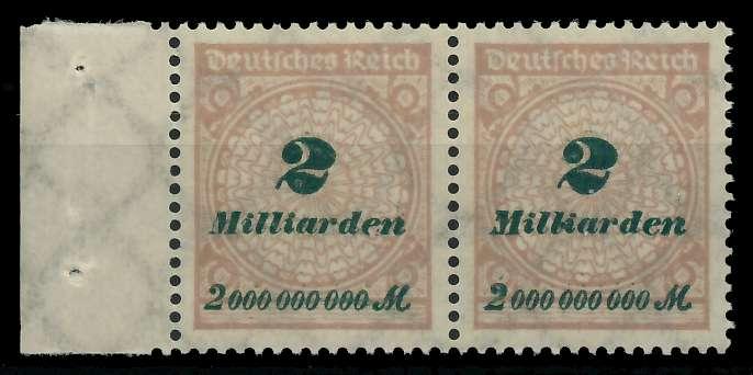 DEUTSCHES REICH 1923 HOCHINFLA Nr 326A postfrisch WAAGR 89C702