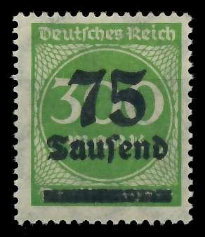 DEUTSCHES REICH 1923 HOCHINFLA Nr 286 postfrisch 89C706