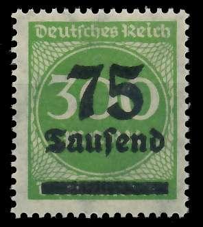 DEUTSCHES REICH 1923 HOCHINFLA Nr 286 postfrisch 89C712