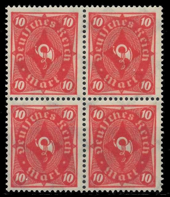 DEUTSCHES REICH 1922 INFLATION Nr 206 postfrisch VIERER 89C71E
