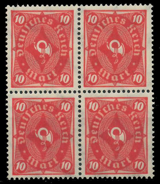 DEUTSCHES REICH 1922 INFLATION Nr 206 postfrisch VIERER 89C736