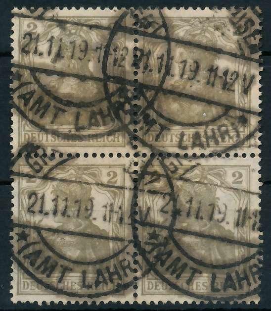 DEUTSCHES REICH 1900 18 GERMANIA Nr 102 gestempelt VIERE 89C74E
